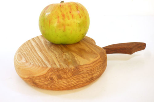 mini apple shaped chopping board