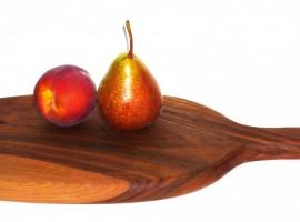 cutting chopping board handmade walnut wood