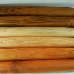 Handmade tapered wooden rolling pins selection of woods