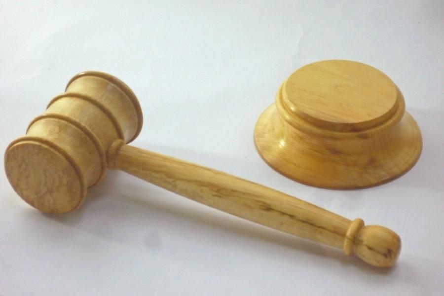 spalted hornbeam gavel