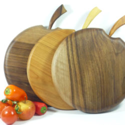 wooden handmade chopping boards