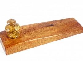 tasmanian-blackwood-brown-mallee-burr-wood-doorstop-wedge
