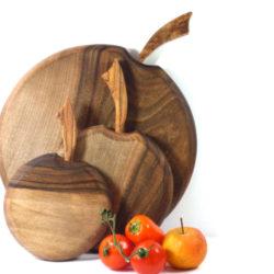 walnut wooden chopping board set of 3