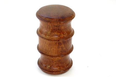 wooden palm gavel
