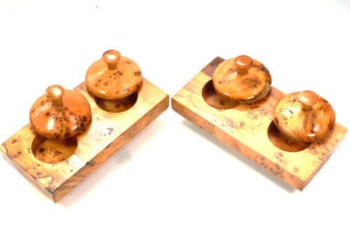 salt and pepper pinch pots
