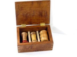 handmade presentation palm gavel box