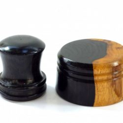 Mini Palm Gavel & Striking Block African Blacwood branch
