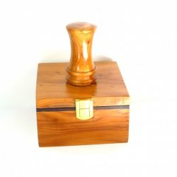 handmade wooden palm gavel