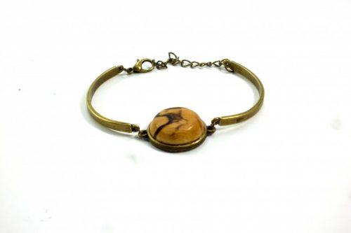 handmade bronze bracelet