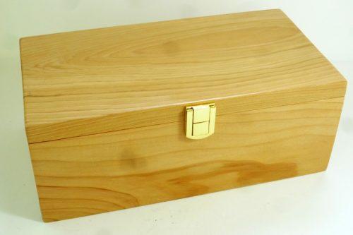 boxed presentation gavel cedar of lebanon with brown oak gavel