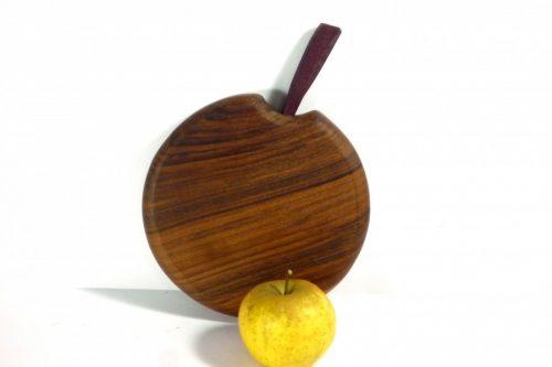 handmade wooden single piece chopping board