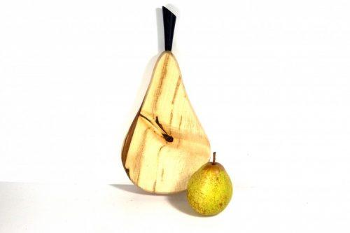 handmade pear shaped chopping board