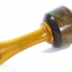 Lightweight carving mallet 1942 lignum vitae osage orange handle